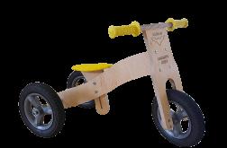 Rowerek biegowy drewniany 2w1 BATMOBIL