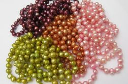 Sznur pereł, mix kolorów