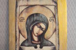 Matka Boża z gołębicą