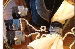 Pierścienie na serwetki - dekoracja stołu