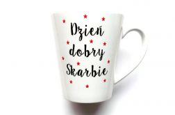 KUBEK LATTE DZIEŃ DOBRY SKARBIE