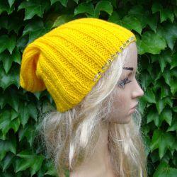 czapka z cekinami - kolory do wyboru