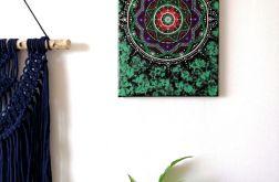 Mandala silnej woli obraz ręcznie malowany