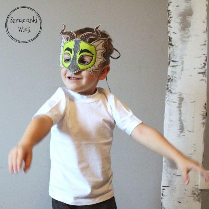 Maska dla dzieci i dorosłych - SMOK