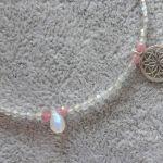 Bransoletka Labradoryt i Kamień Księżycowy