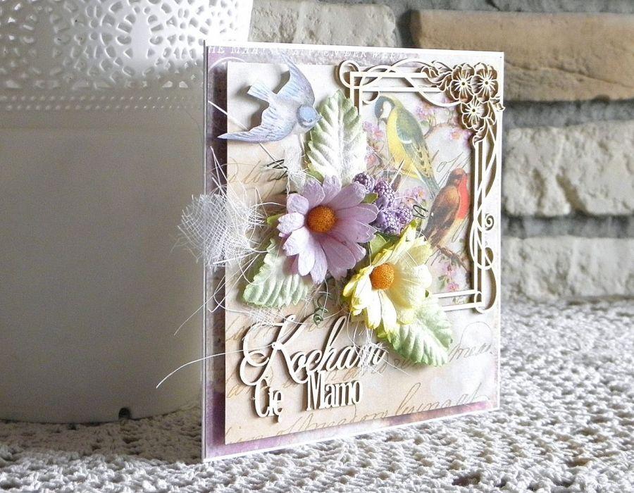 Kocham Cię Mamo - kartka 03