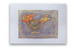 Ptaszek 28 - rysunek dekoracyjny do pokoju