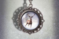 Medalion Jeleń 2 - Deer - zdobiony