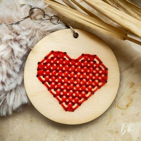 Brelok - serce pełne miłości 2