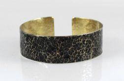 Lawa - mosiężna bransoletka 210605-05