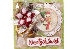 #715 - KARTKA, Boże Narodzenia, świąteczna