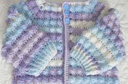 Sweterek bąbelkowy - cieniowany