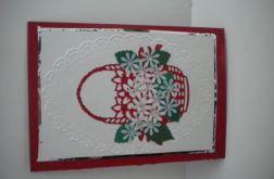 Kosz z kwiatami dla Ciebie - kartka