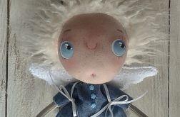 ANIOŁEK - lalka tekstylna, cute angel 5, OOAK