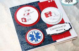 Kartka z gratulacjami - dla ratownika
