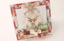 Jelonka - kartka świąteczna 2