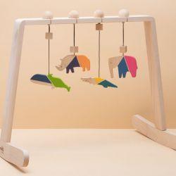Zestaw Baby Gym - Kolorowe Zwierzęta