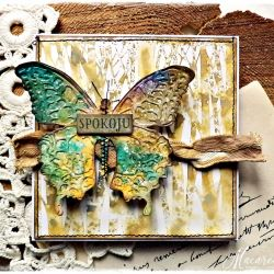 Motyl - kartka uniwersalna