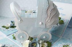 Pudełko z wózkiem - Chrzest Św.