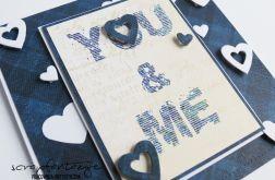 Walentynka - kartka walentynkowa