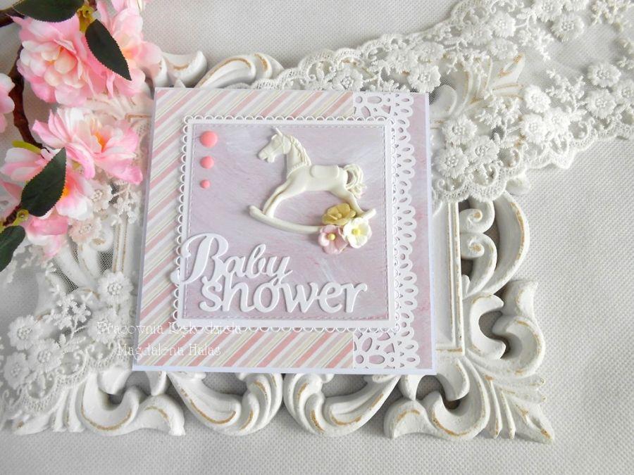 Kartka z okazji Baby shower 02