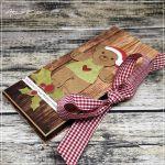 Kartka na czekoladkę z-Boże Narodzenie