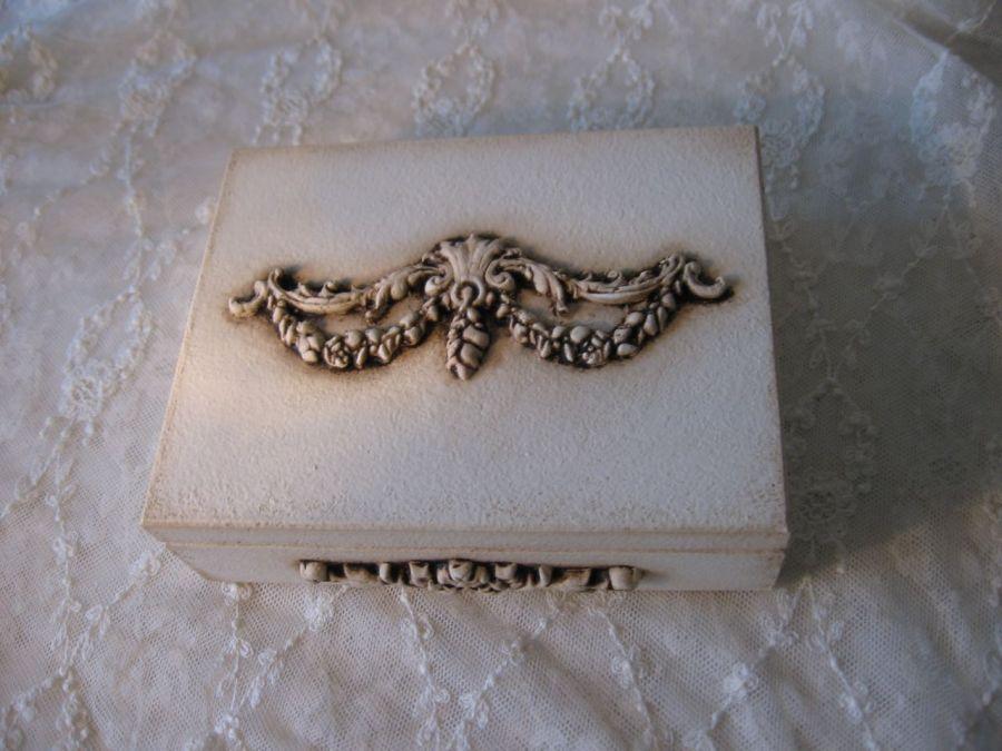 Szkatułka na obrączki kopertę prezent