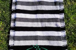 Bawełniany Czterokolorowy Dywanik 110x70 cm