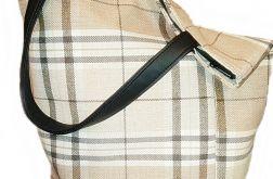 Dużą torba XXl z kieszonką z boku