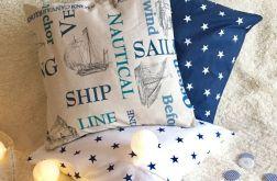Zestaw marynistyczny-gwiazdy i statki