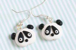 Pandy kolczyki z modeliny