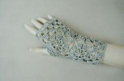 Rękawiczki, mitenki popielate