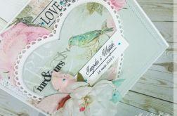 W dniu ślubu - kartka z pudełkiem