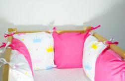 Modułowy ochraniacz do łóżeczka 6 szt N30