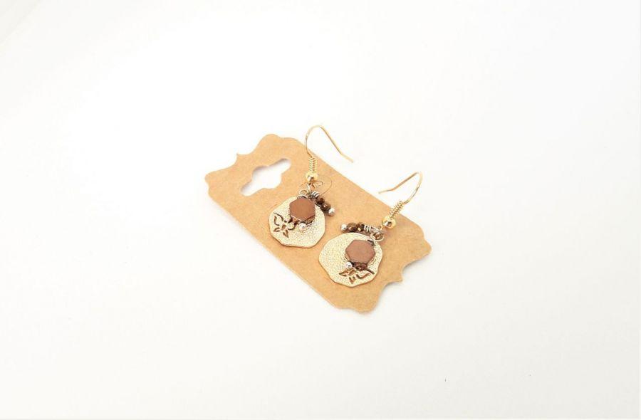 Kolczyki z serii Simple 6 - Kolczyki handmade z kamieni naturalnych