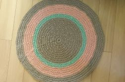 Dywan ze sznurka 85 cm sznurkowy dywan
