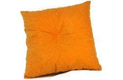 Poduszka dekoracyjna 45x45cm - ciemny żółty
