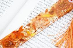 Zakładka do książki - rainbow pomarańcz