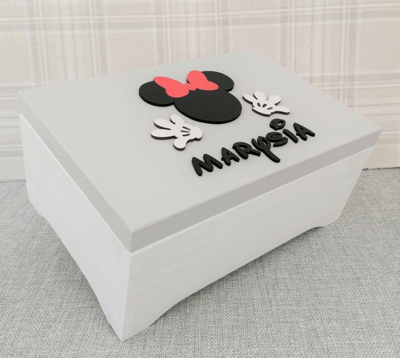 Pudełko na skarby XXL- Minnie- MmC13 - szkatułka dla dziewczynki
