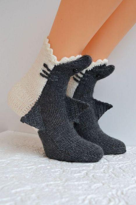 Rekiny skarpetki -zjem Twoje stopy ;)