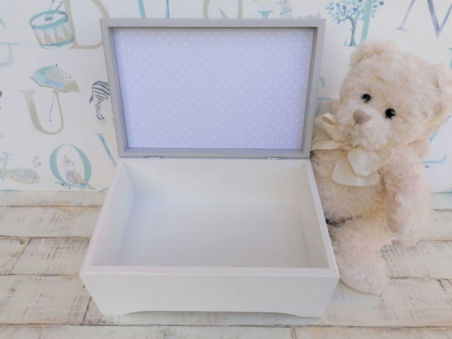 Pudełko na skarby XXL- Minnie- MmC13 - kuferek XXL