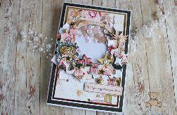 Kartka urodzinowa 18 Shaker Box Glam GOTOWA