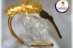 Opaska w stylu greckim - wieniec laurowy