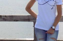 "t-shirt luźny ""INFNITI"""