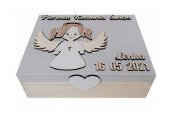 Szkatułka - prezent na komunię - K04