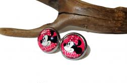 Kolczyki Myszka Miki - sztyfty