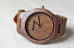 Damski drewniany zegarek SISKIN