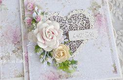 Ślubna kartka w pudełku 297