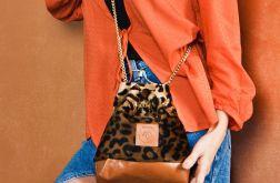 Mały worek Mili Glam Bag 2 - panterka