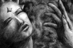 Dłonie - oryginalny rysunek 9905